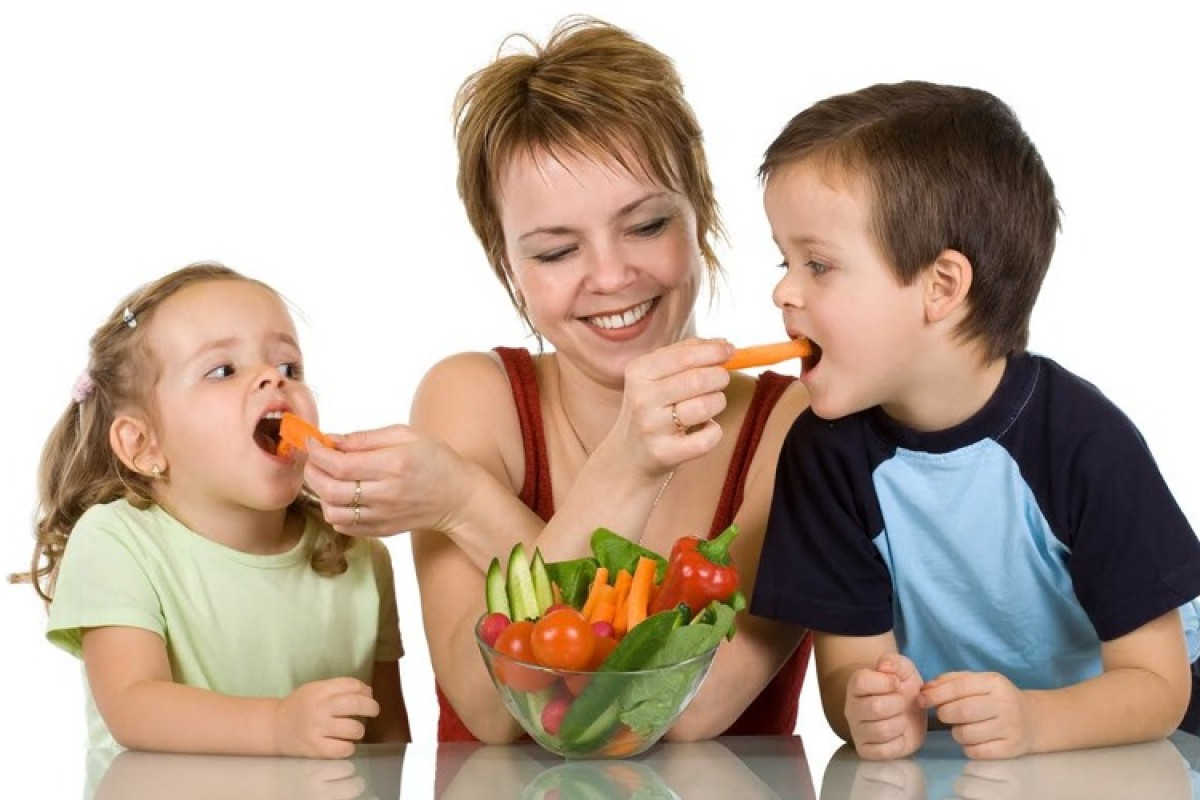 Έξυπνοι τρόποι για να κάνετε τα παιδιά σας να φάνε τα λαχανικά