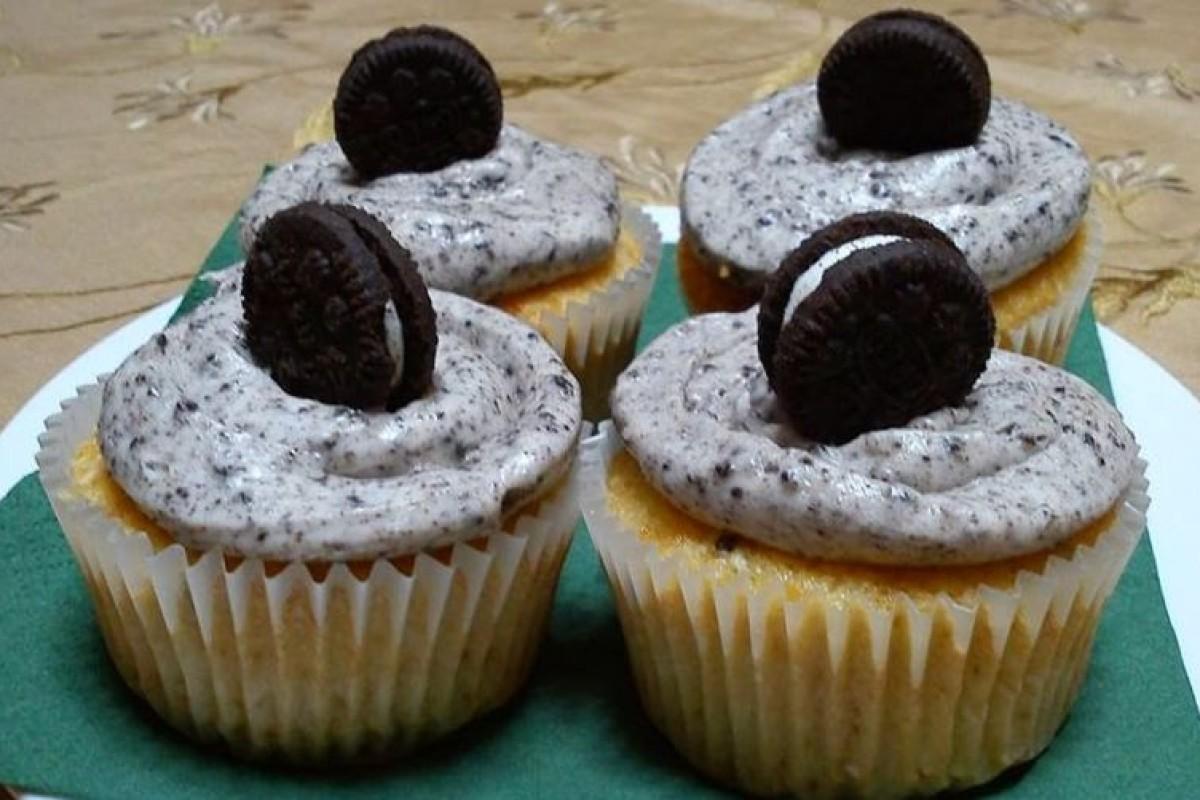 Απίθανα Oreo cupcakes!