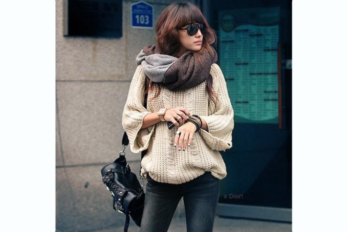 Πουλόβερ  τρόποι για να αναδείξετε το πιο όμορφο ρούχα του χειμώνα 00dd94eda13
