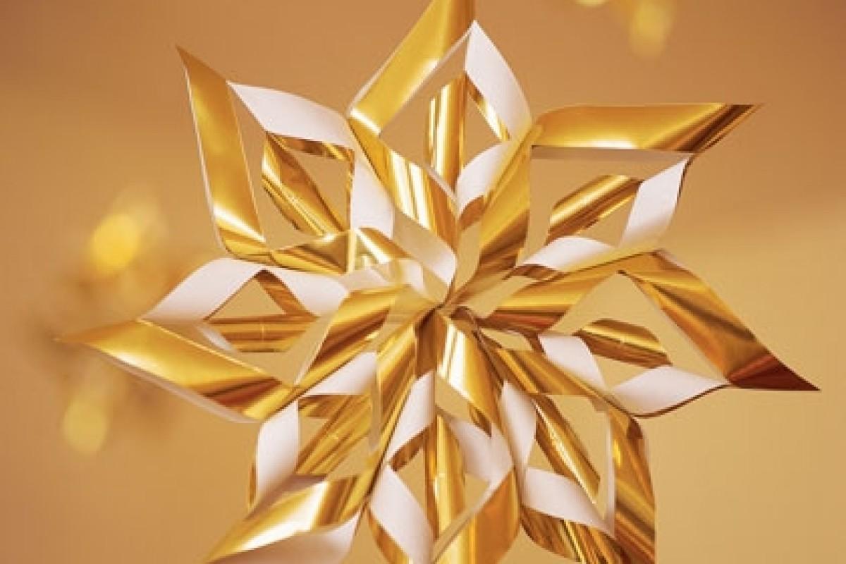 Χριστουγεννιάτικα διακοσμητικά αστεράκια