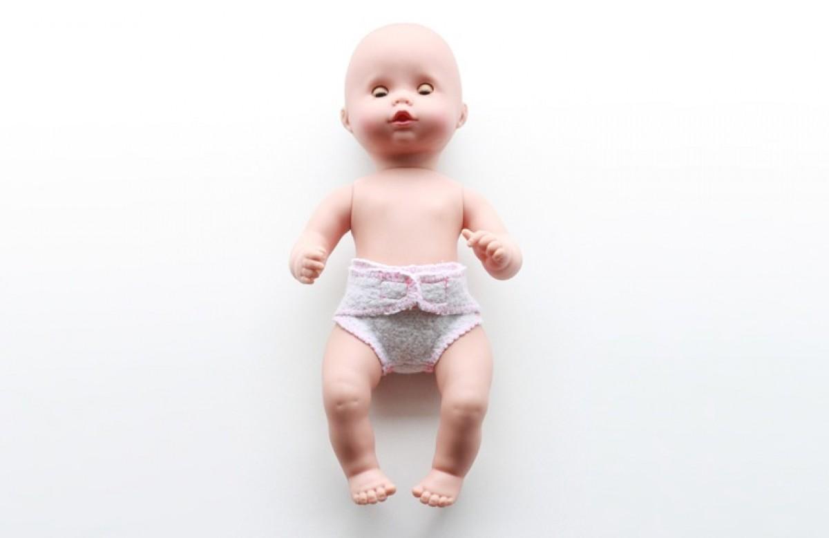 Φτιάξε πάνες για την κούκλα-μωρό!
