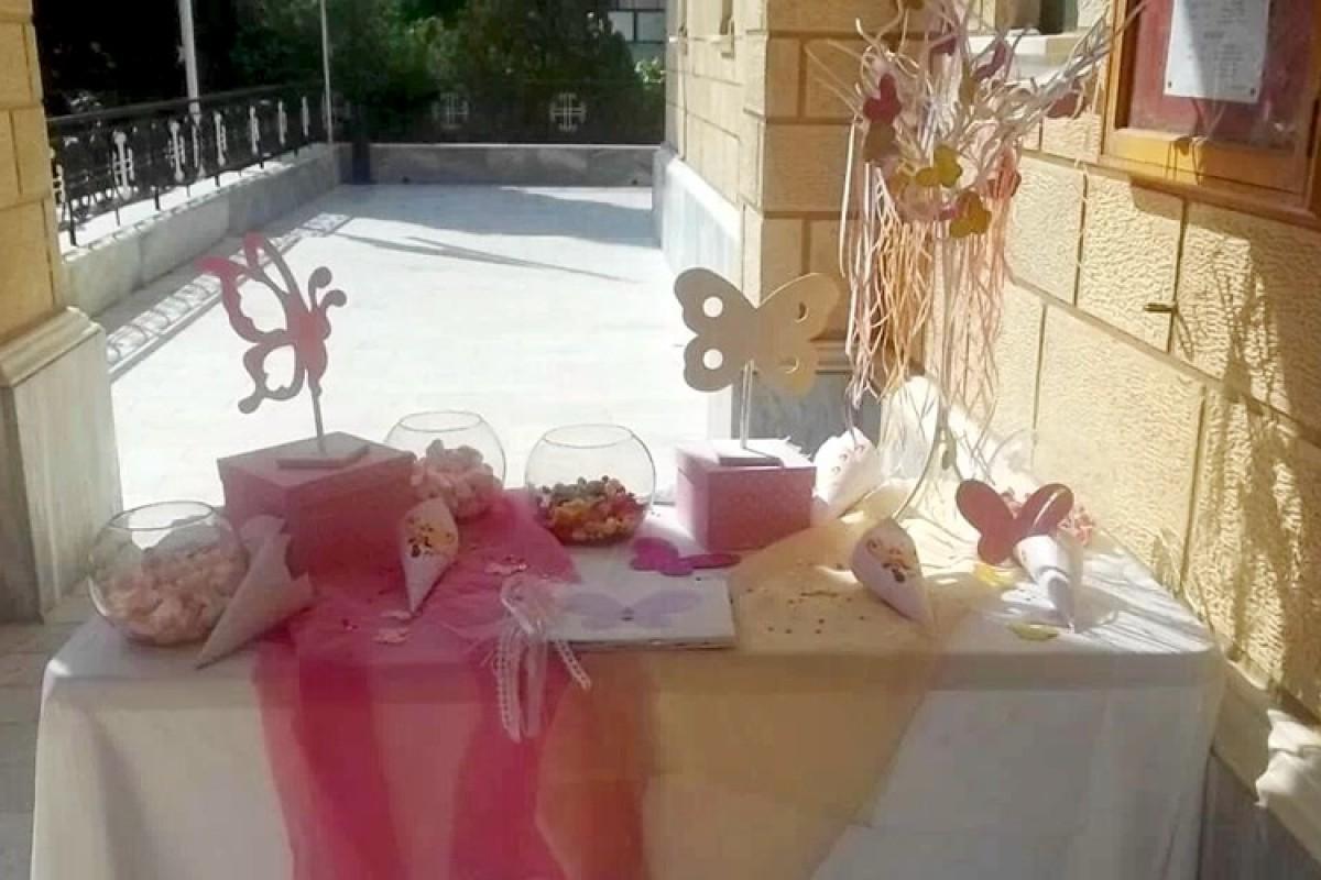 Η βάπτιση της Μελίνας