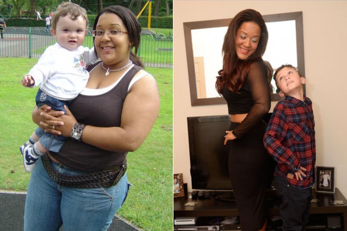 Έχασε 44 κιλά για να χαρίσει το συκώτι της στον άρρωστο γιο της