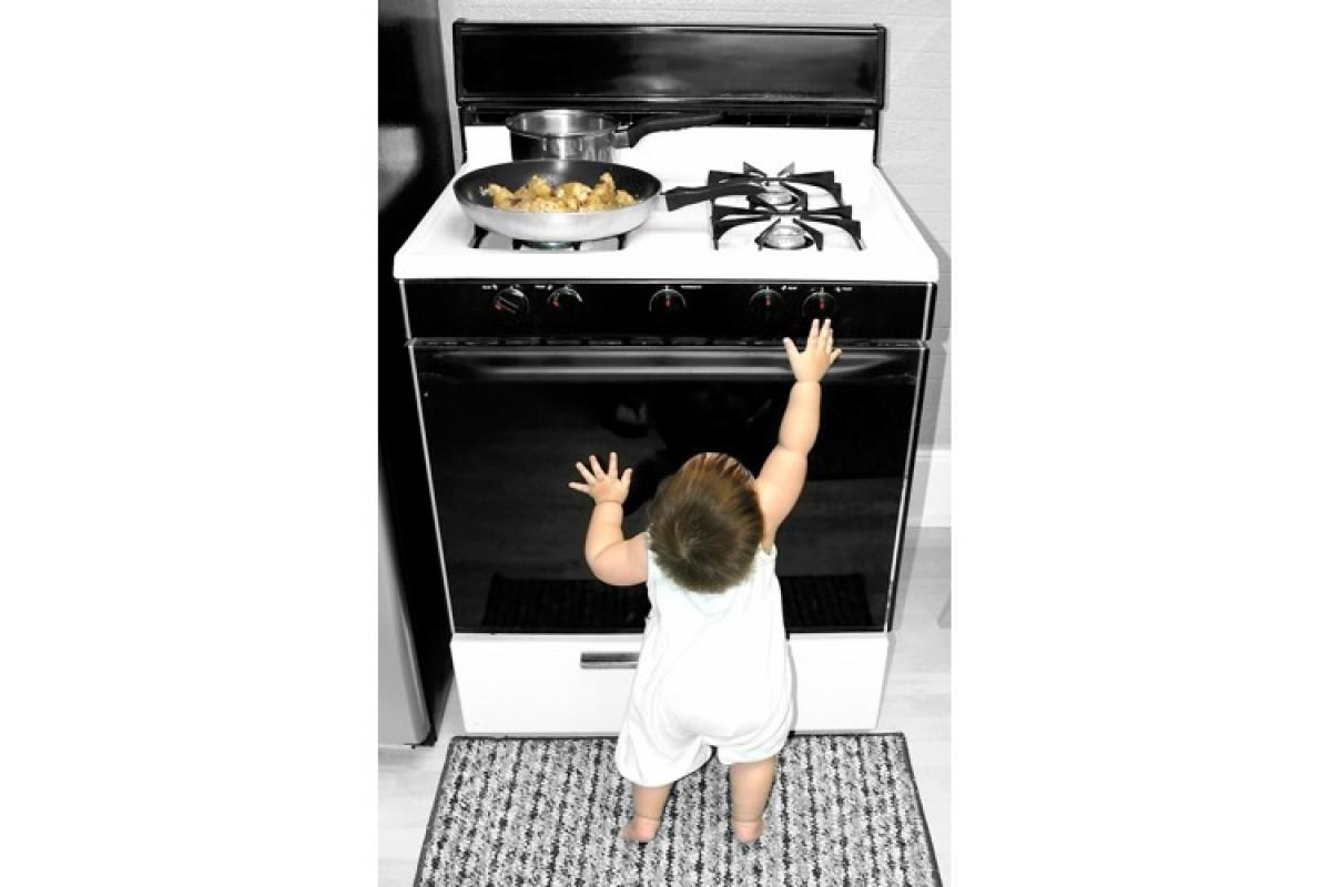 Βοήθεια! Πώς να ασφαλίσω την κουζίνα μου;