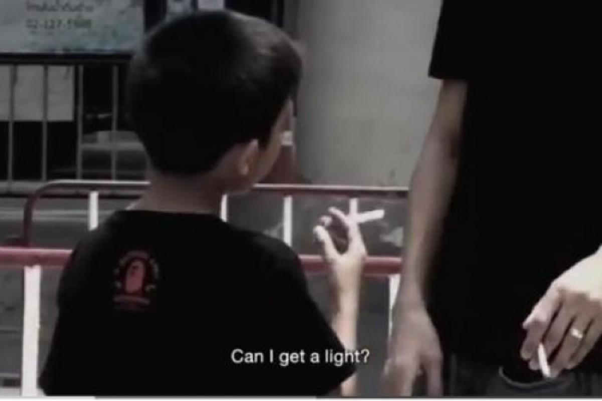 Θα ανάβατε το τσιγάρο ενός παιδιού;