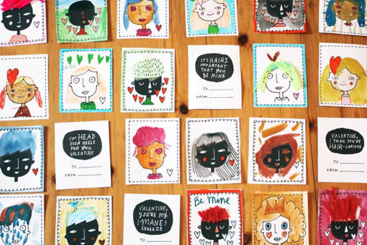 Χαριτωμένες κάρτες για τον Άγιο Βαλεντίνο