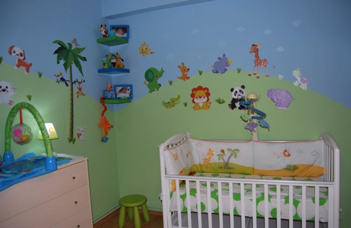 Η ζούγκλα στο δωμάτιο του Γιώργου