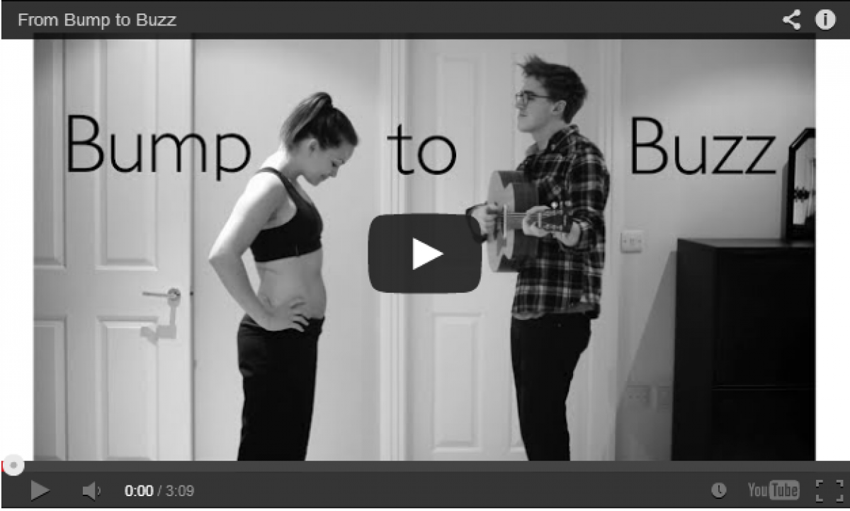 Δείτε πώς ένα ζευγάρι υποδέχτηκε το μωράκι του μέσα από ένα μουσικό βίντεο