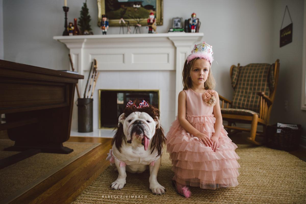 Η ξεχωριστή φιλία μιας 4χρονης με το μπουλντόγκ της