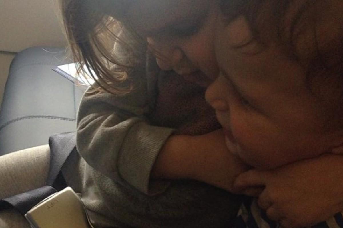 Παρλαπιπίαση στο αεροπλάνο
