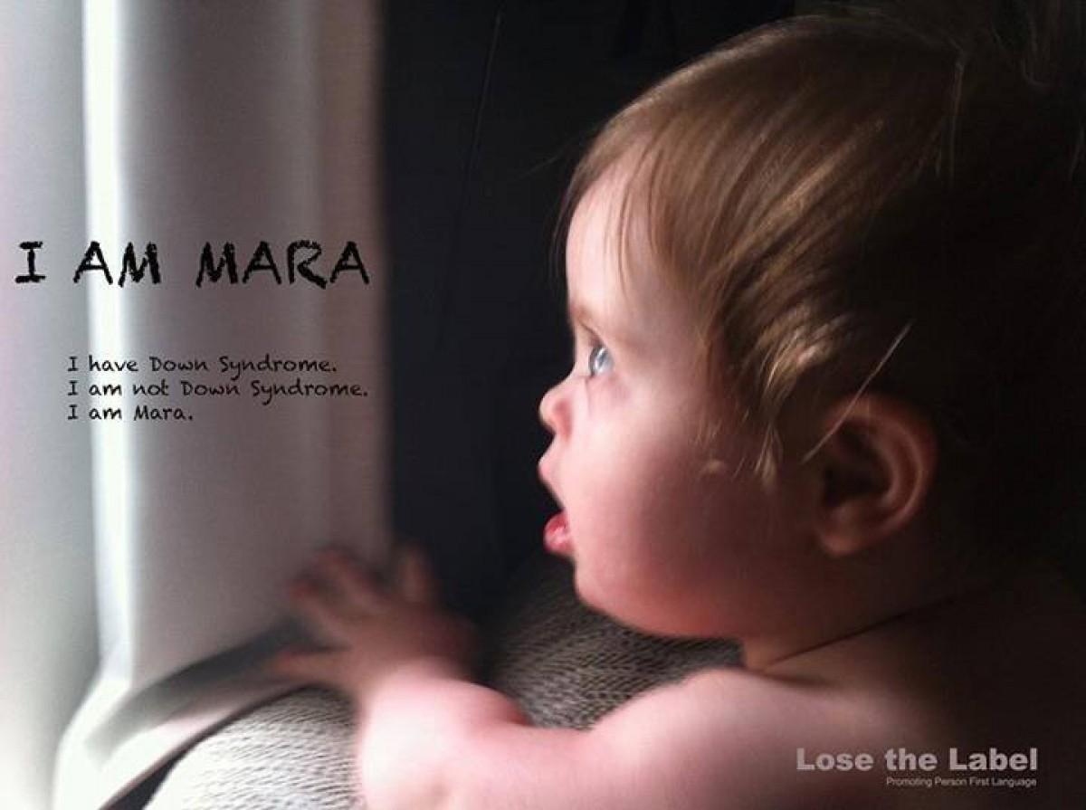 «Δεν είμαι Down. Είμαι η Mara»