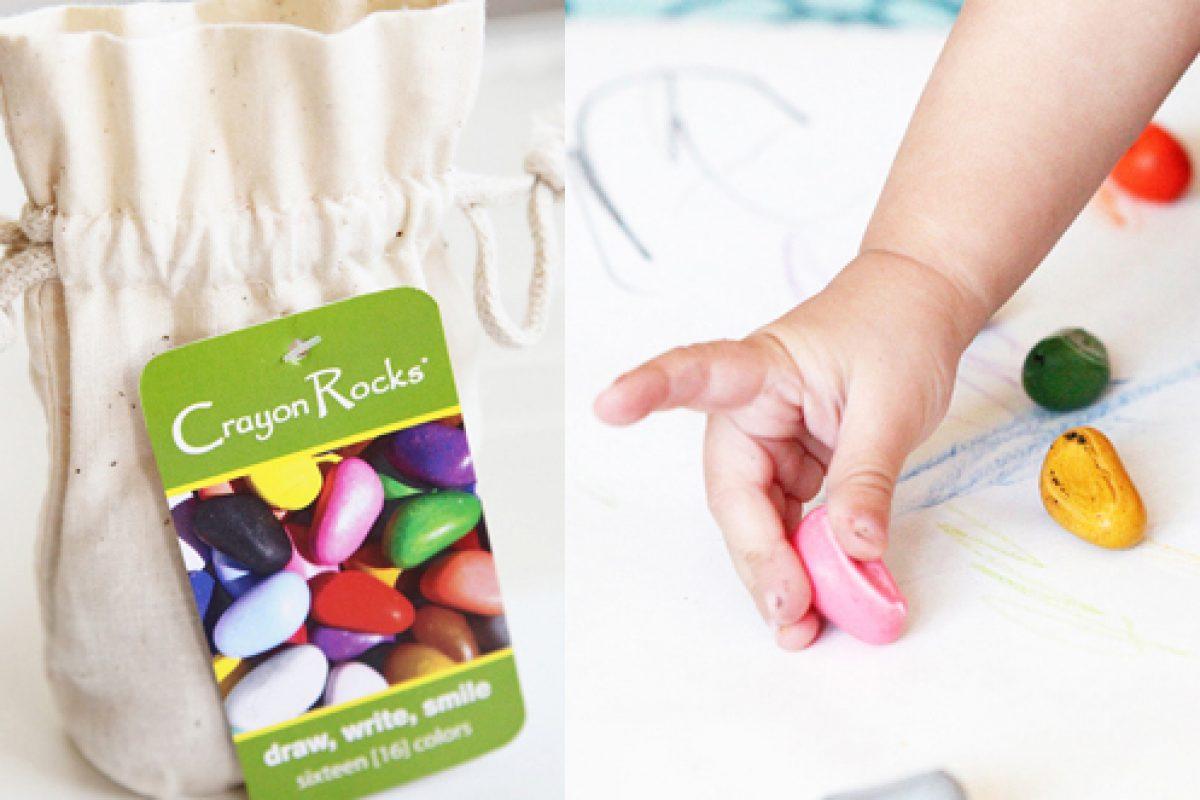 Crayon Rocks: ίσως οι καλύτερες κηρομπογιές για το παιδί σας!