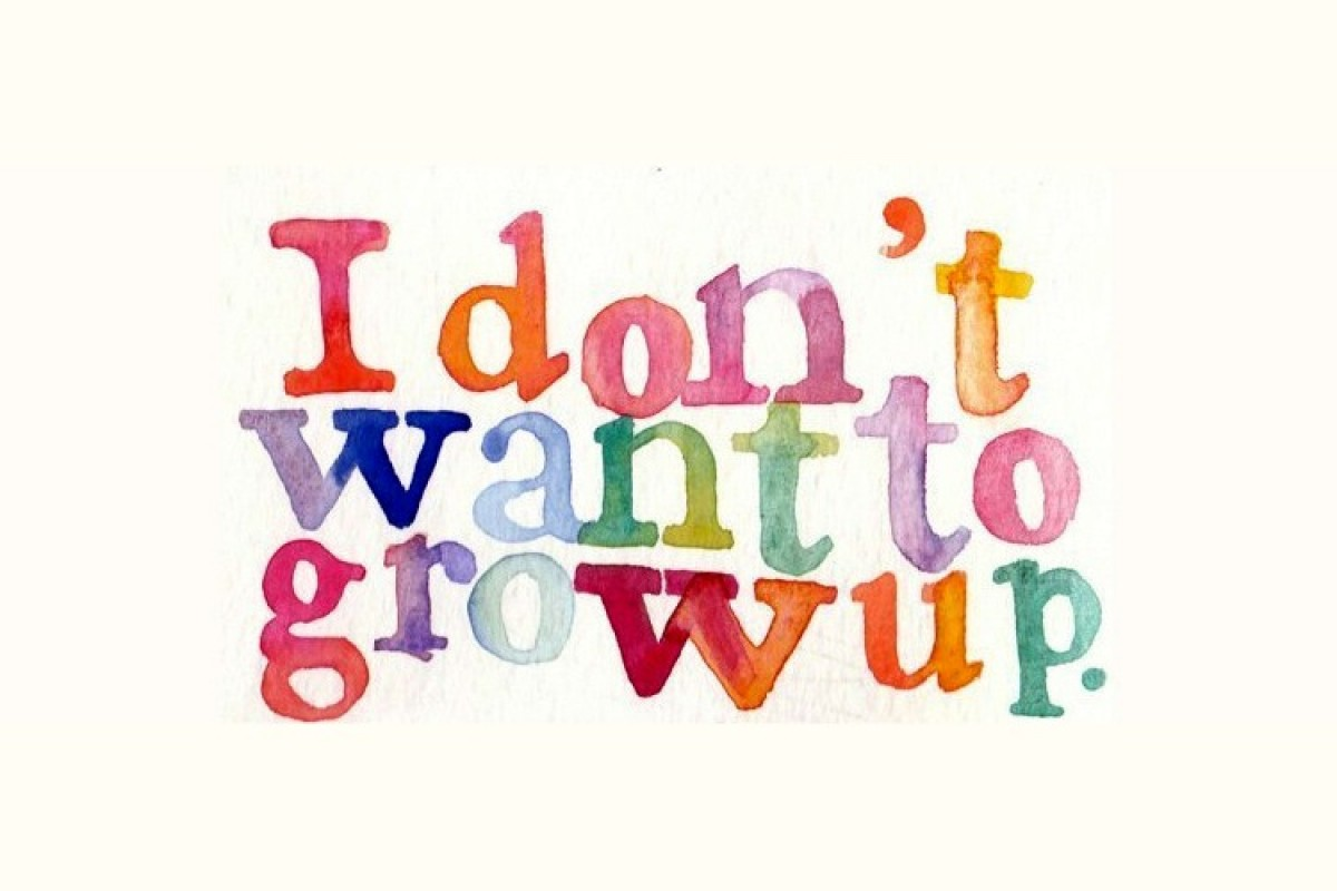 «Μαμά, δεν θέλω να μεγαλώσω»