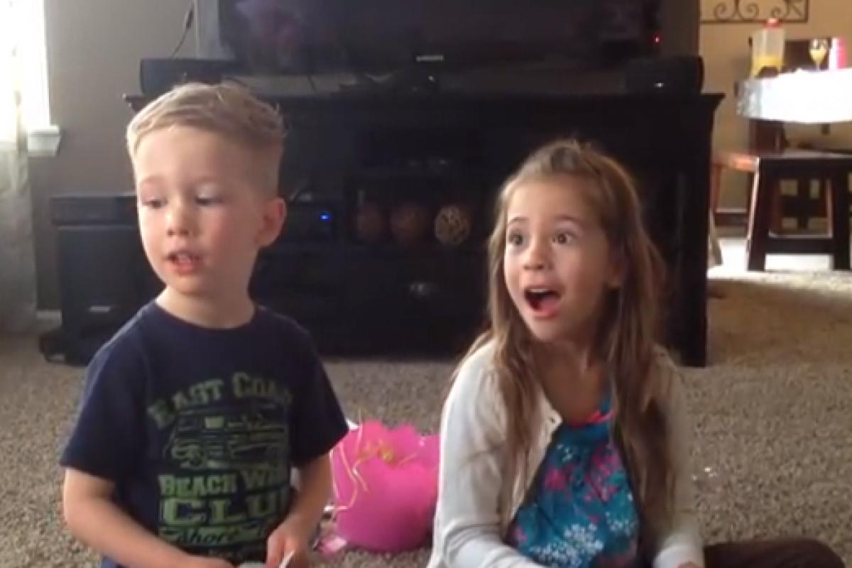 Βίντεο: Η μαμά θα κάνει μωρό!