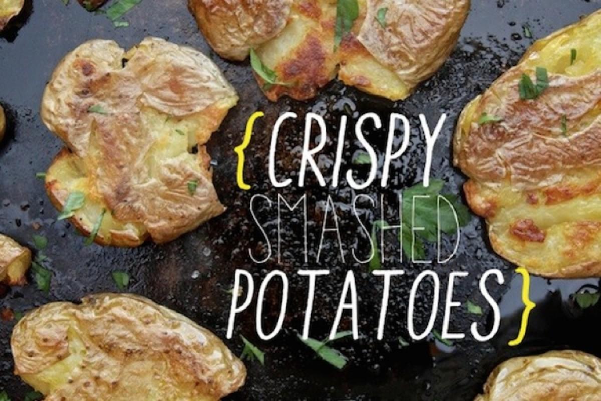 Τραγανές πατάτες στο φούρνο