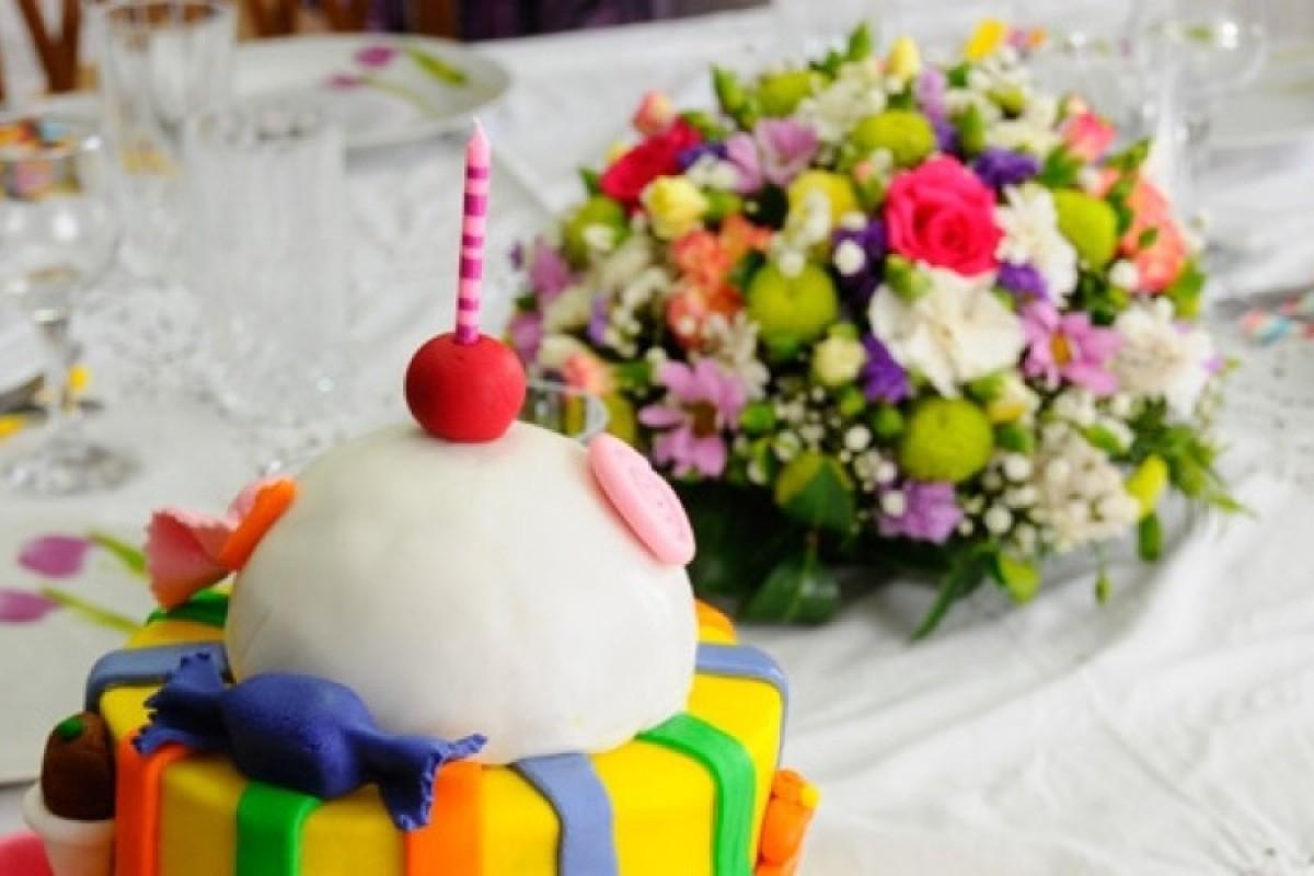 Η βάπτιση και τα γενέθλια της Δανάης