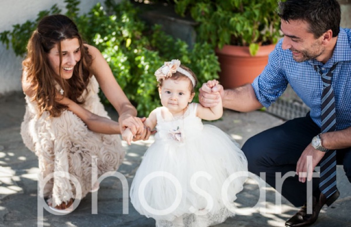 Η βάπτιση της Μαρίας-Όλγας