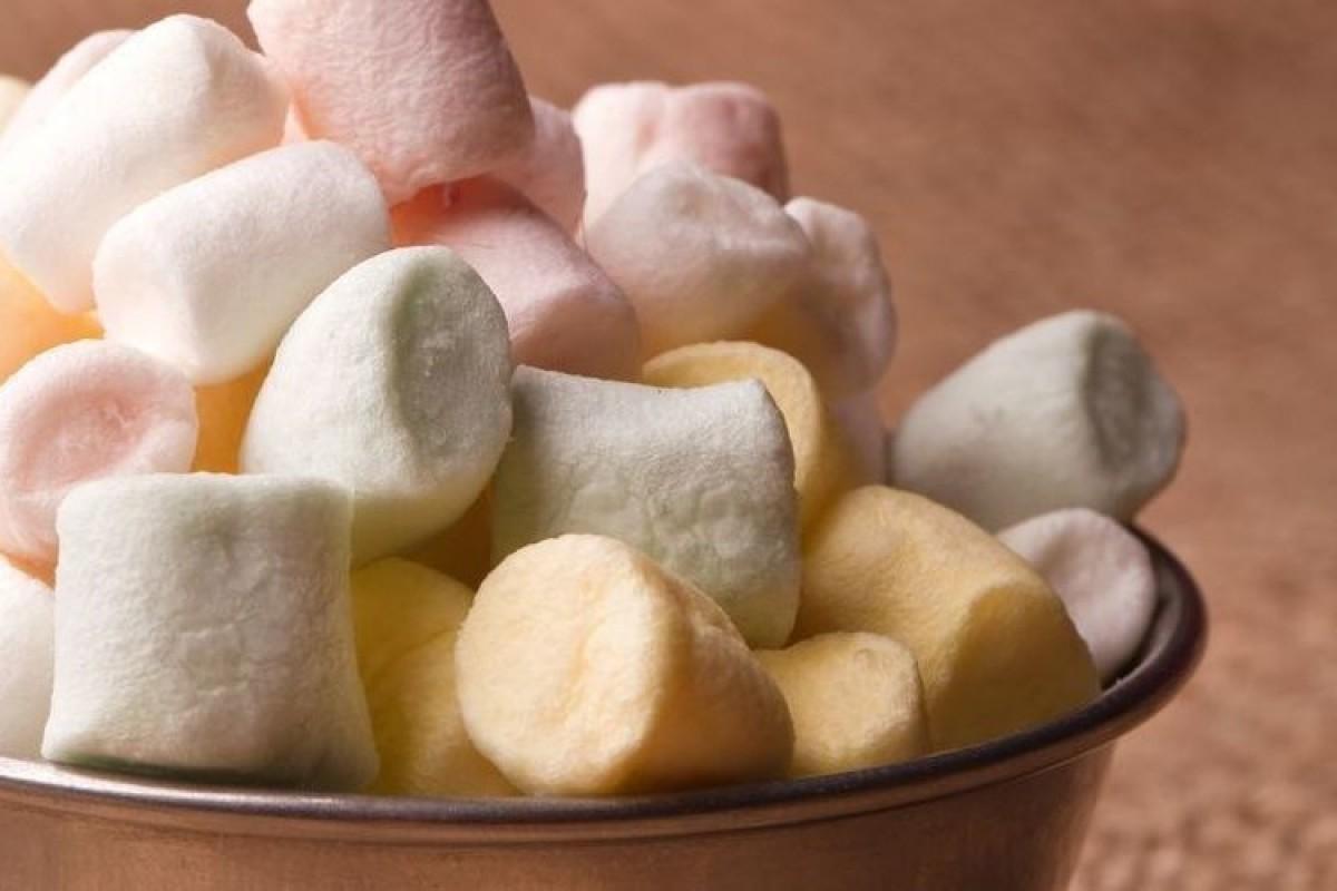 Ζαχαρωτά (Marshmallows) από τη μαμά!