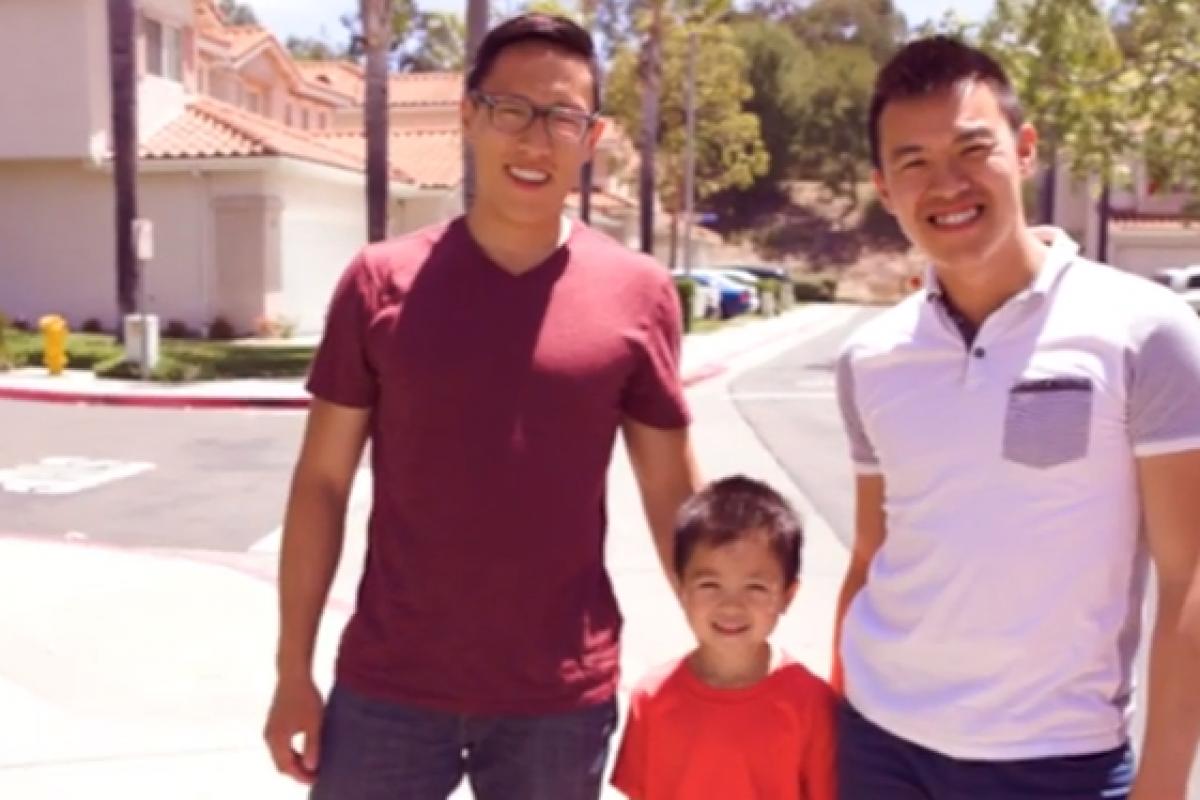 [Βίντεο] «Ευχαριστώ, μπαμπάδες μου!»