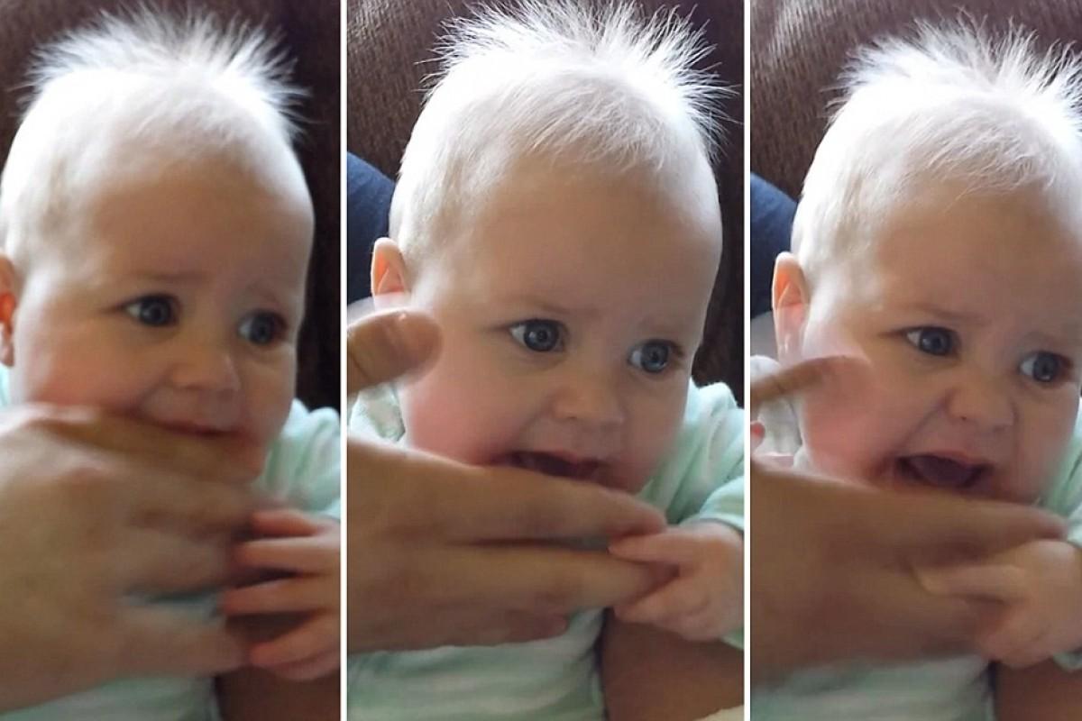 [Βίντεο] Τι να θέλει να μας πει άραγε αυτή η μικρή πολυλογού;