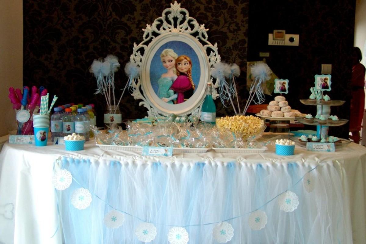To Frozen πάρτι της Μελίνας