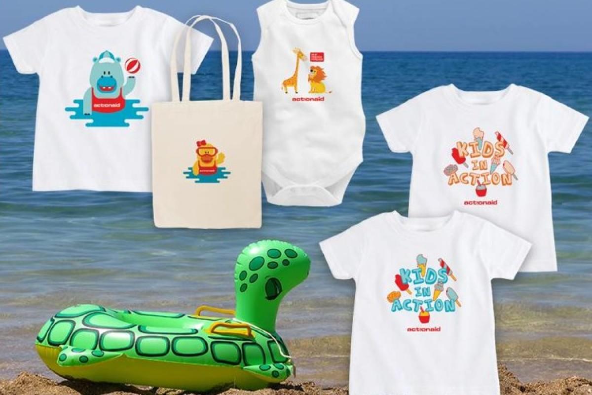 ActionAid: Νέα παιδικά και βρεφικά ρούχα  για το καλοκαίρι