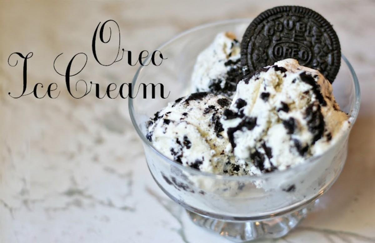 Πεντανόστιμο Oreo παγωτό!
