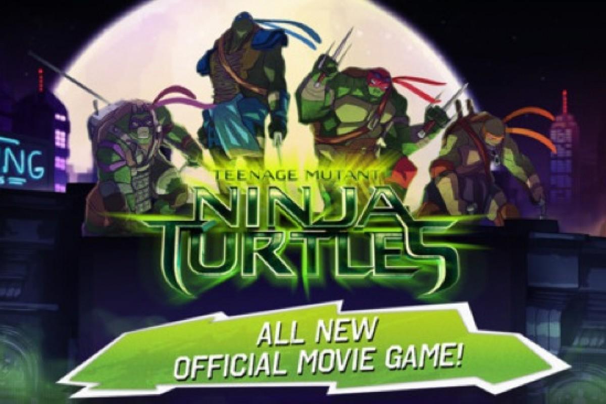 Nέο mobile παιχνίδι «Χελωνονιτζάκια»!