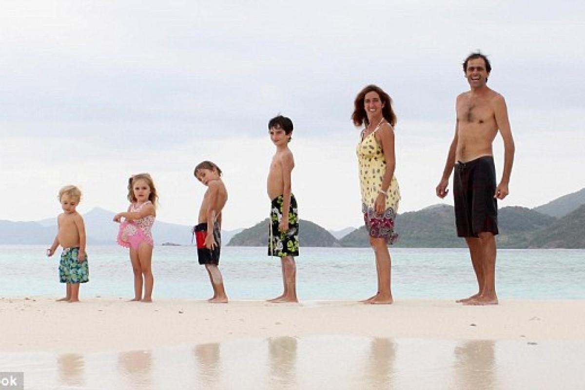 Οικογένεια Zapp: Ταξιδεύουν σε όλο τον κόσμο με τα παιδιά τους