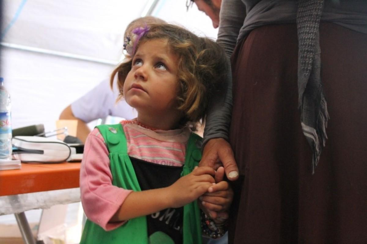 Συνταρακτικές εικόνες από έναν καταυλισμό προσφύγων στη Συρία