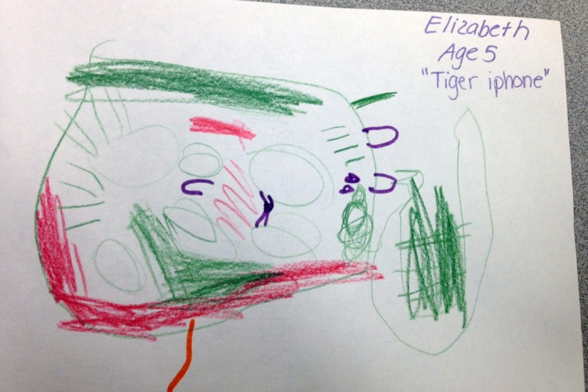 Παιδιά φαντάζονται και ζωγραφίζουν το iPhone 6
