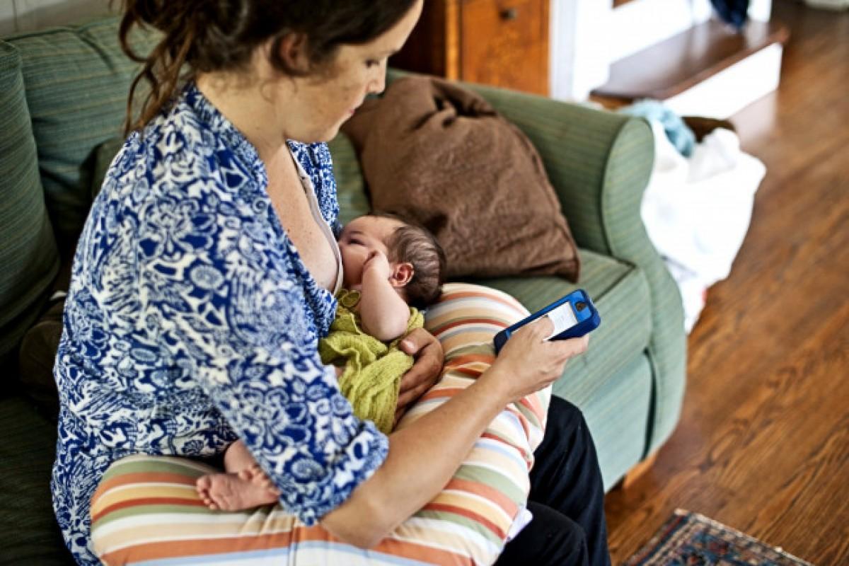Μια μέρα από την καθημερινότητα μιας νέας μαμάς