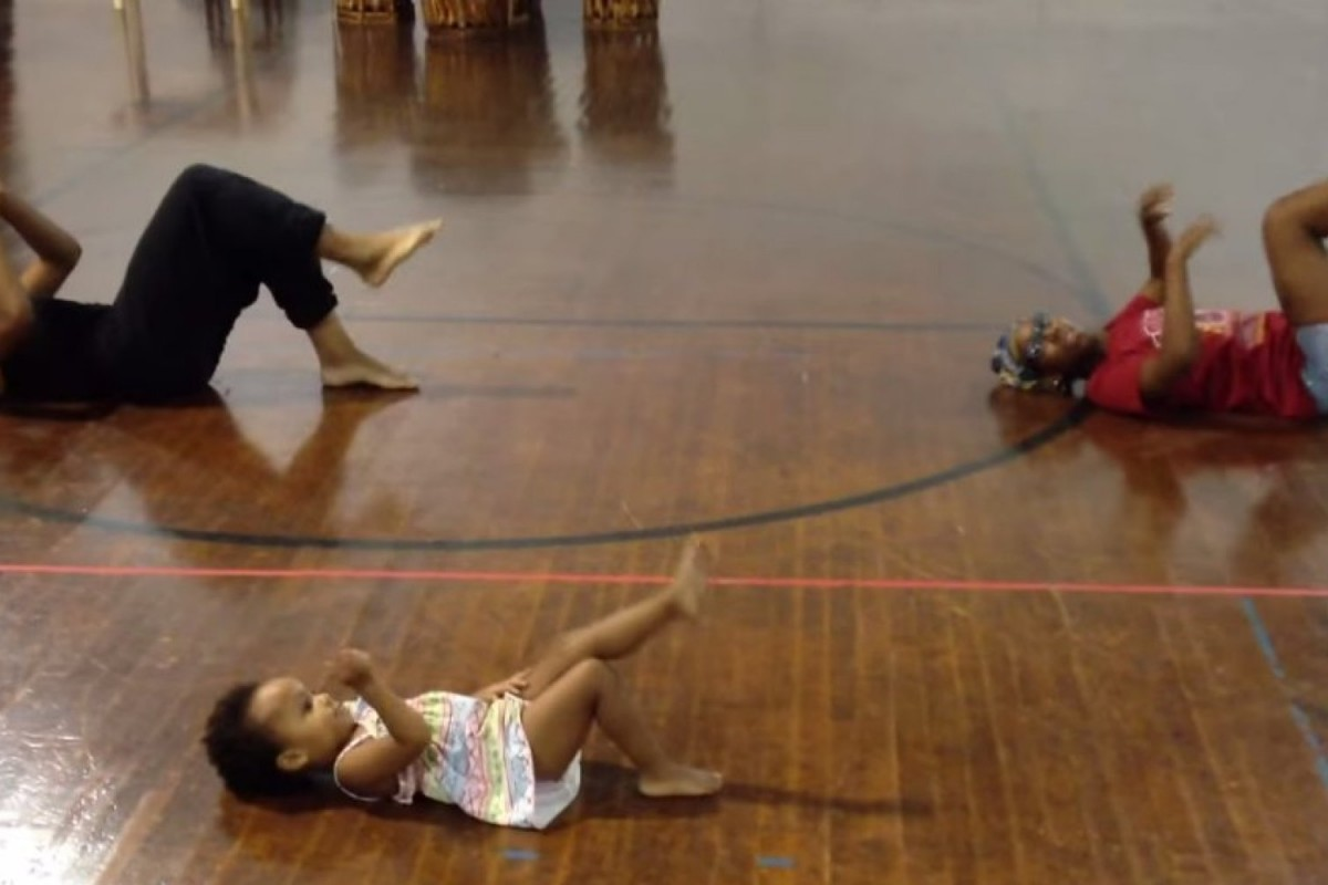 Δείτε την πιο μικρή και χαριτωμένη χορογράφο του κόσμου