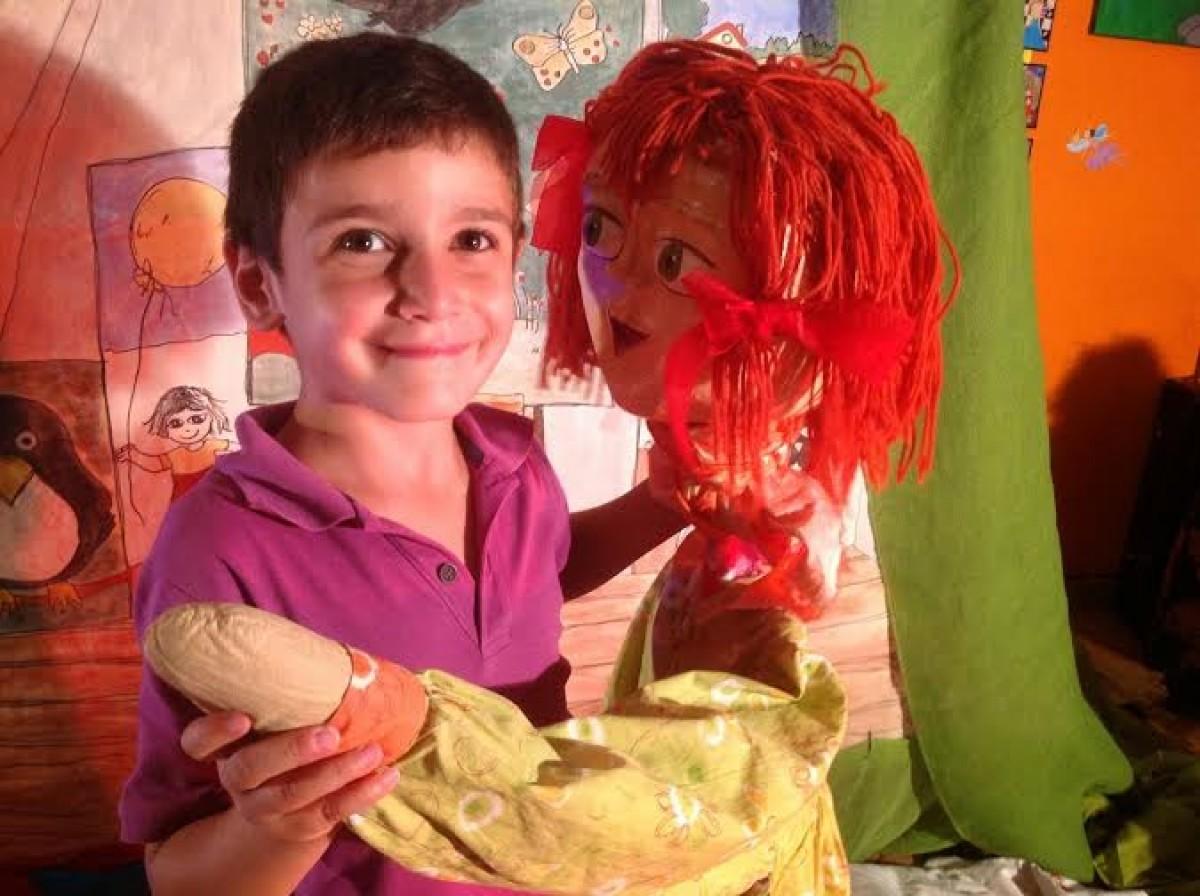 Πολύχρωμο Παραμύθι   Μια μοναδική παράσταση για μωρά και μικρά παιδάκια!