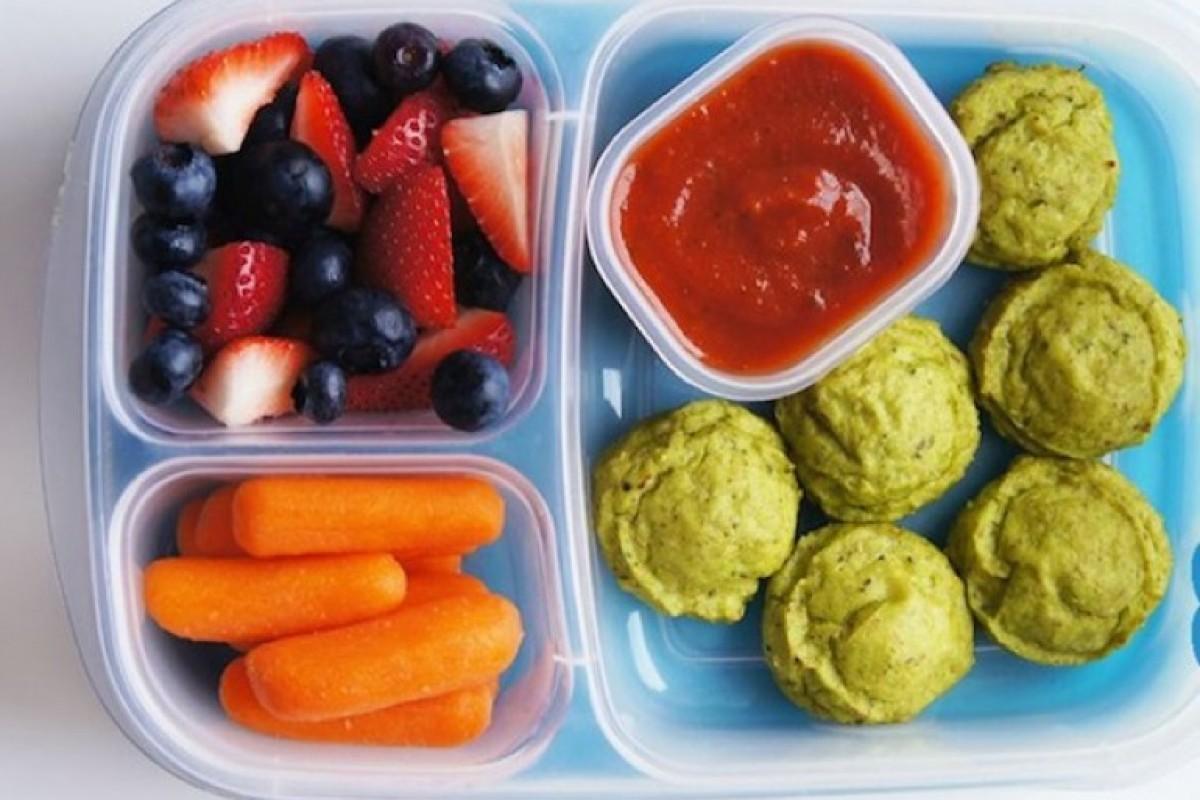 Πίσω στο Σχολείο: Nuggets Λαχανικών