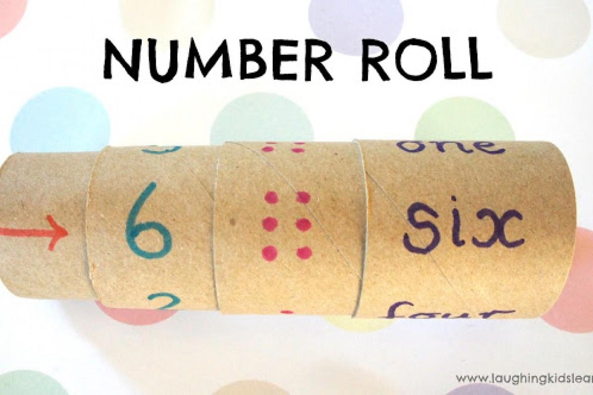 Μία εύκολη κατασκευή για να μάθει τους αριθμούς