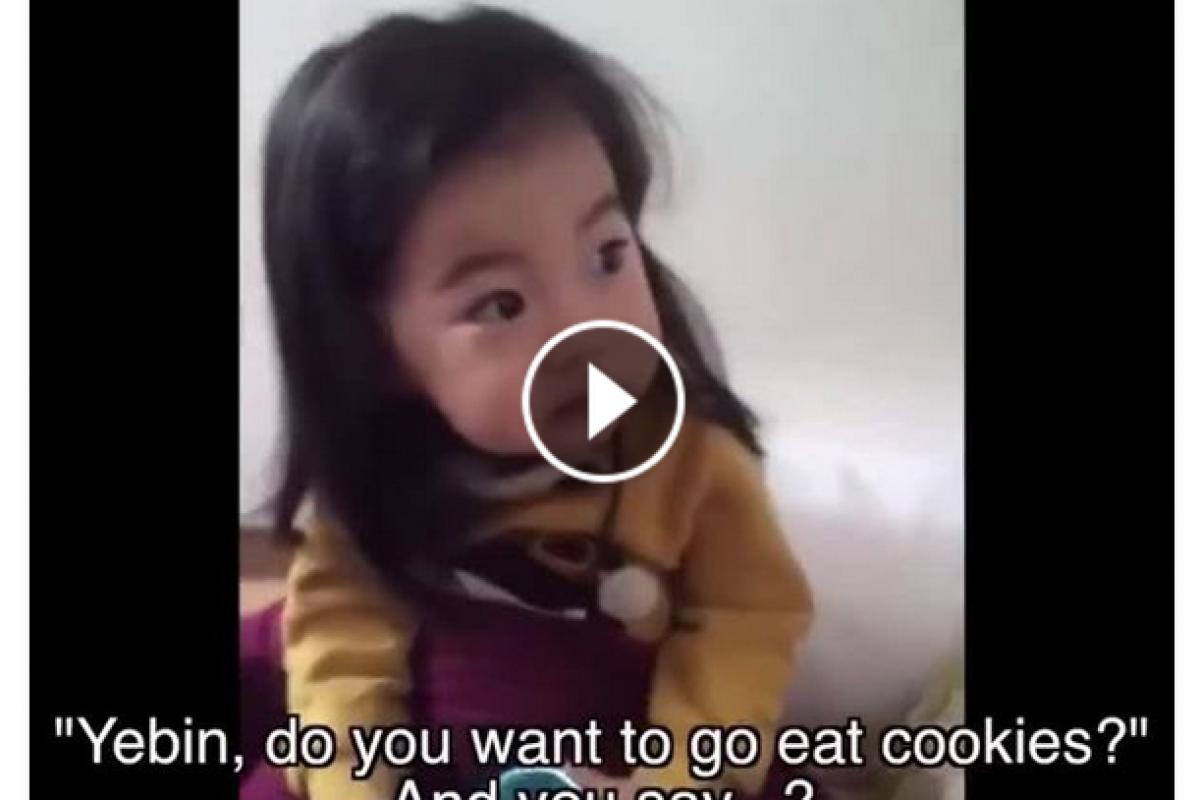 [Βίντεο] Μία μαμά προσπαθεί να μάθει στην κόρη της να λέει «όχι» σε αγνώστους