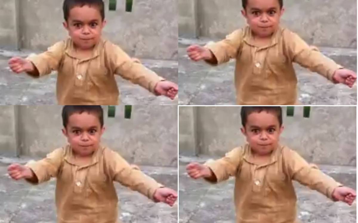 Αφήστε αυτόν τον μικρό χορευτή να σας μαγέψει με τις φιγούρες του