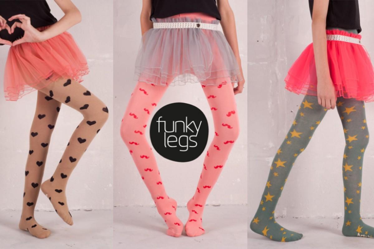 Funky Legs και Country Kids: πανέμορφα καλσόν που… αντέχουν!