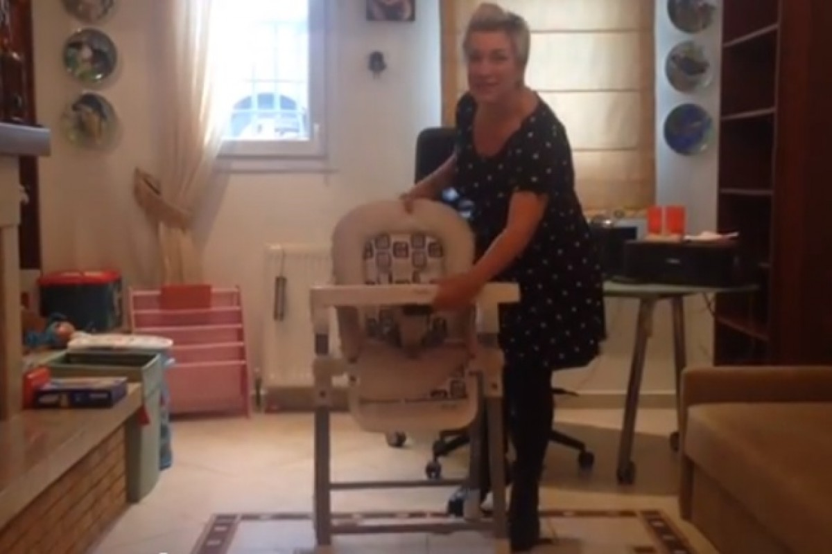 [Βίντεο] Τεστάραμε την καρέκλα φαγητού Inglesina Gusto!