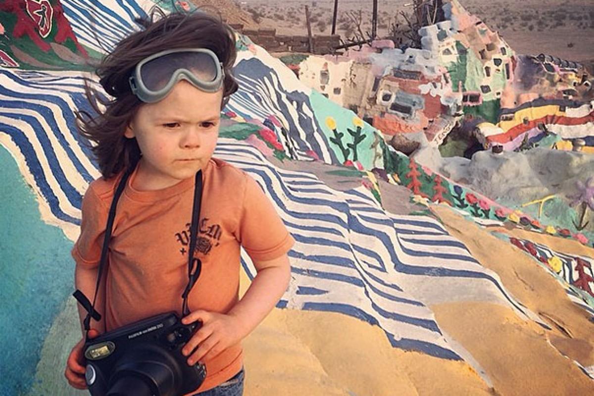 Φωτογραφίες με τη ματιά ενός 4χρονου πιτσιρικά