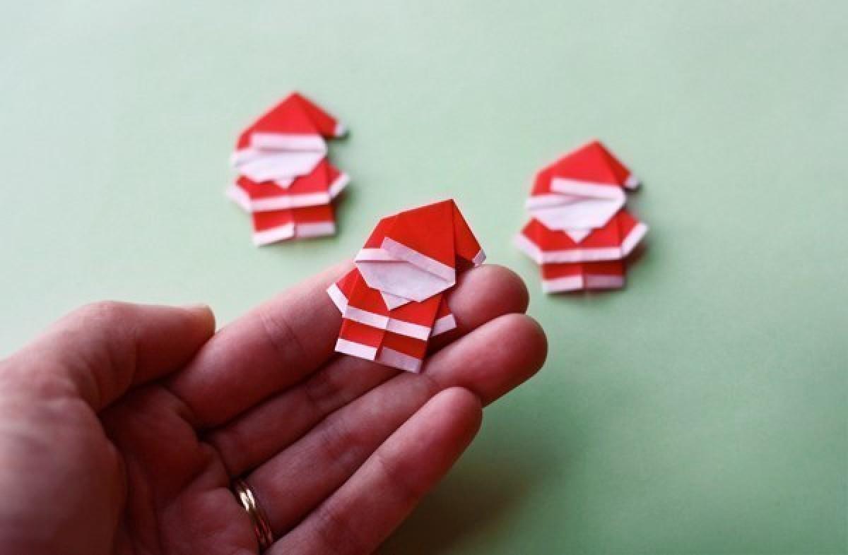Φτιάξτε Αγιοβασιλάκια οριγκάμι