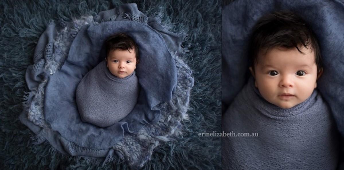 Μικρά αγγελούδια φωτογραφίζονται να χουζουρεύουν