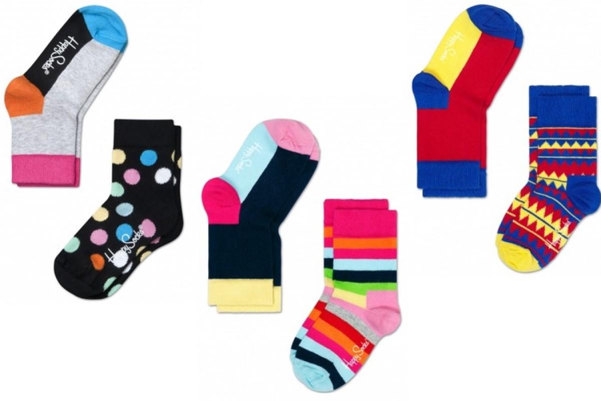 Happy Socks: οι πιο χαρούμενες κάλτσες!