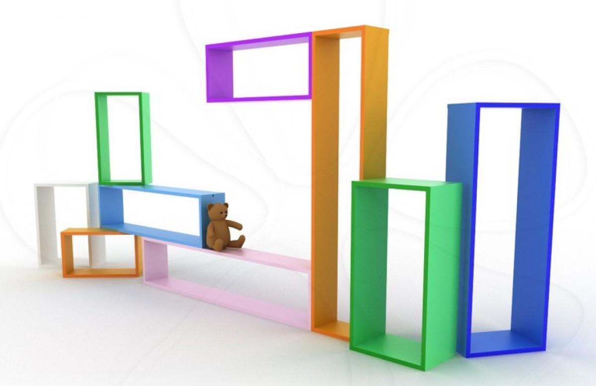 Ράφια Tetris για αμέτρητους, πολύχρωμους συνδυασμούς!