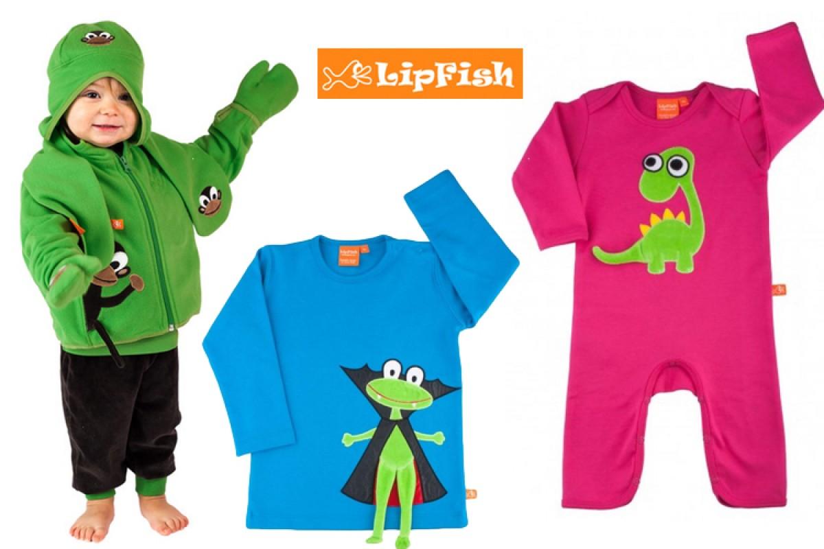 Lipfish: τα πιο παιχνιδιάρικα, οργανικά ρουχάκια θα σας ξετρελάνουν!