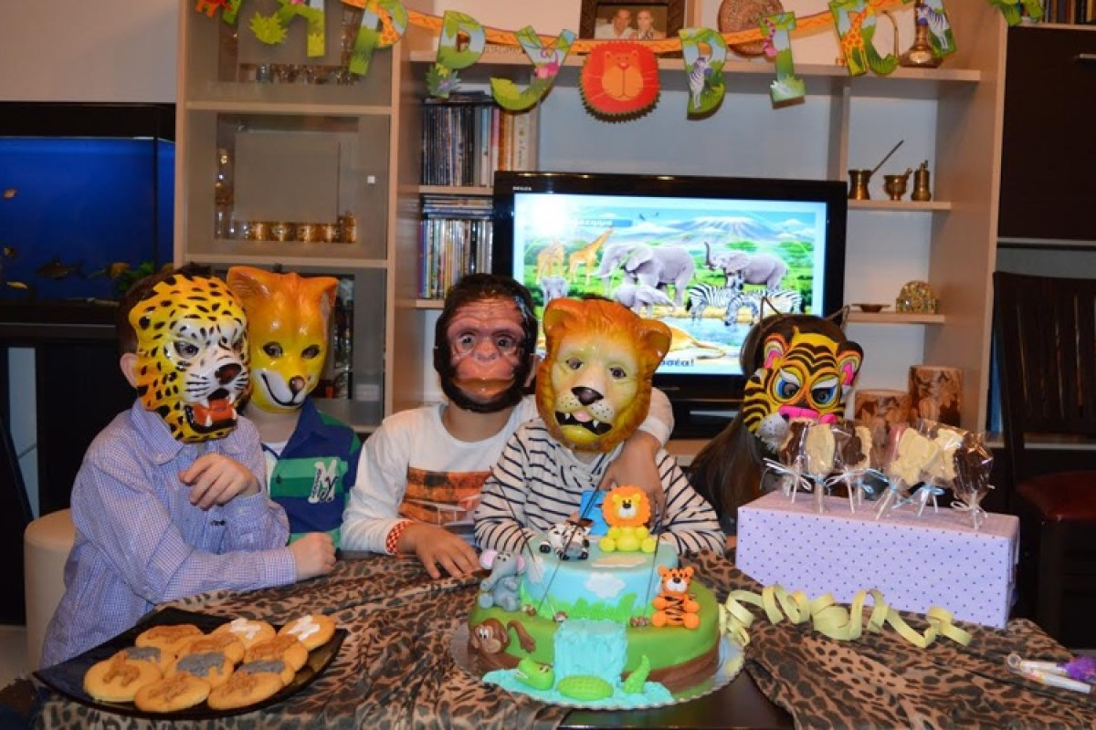 Το πάρτυ του Οδυσσέα με θέμα τα άγρια ζώα!