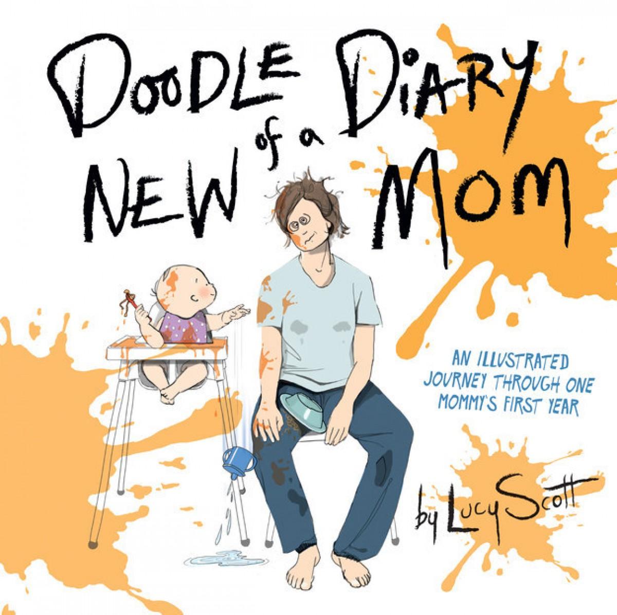 Μια μαμά αποτυπώνει τον πρώτο της χρόνο στη μητρότητα σε χιουμοριστικά σκίτσα