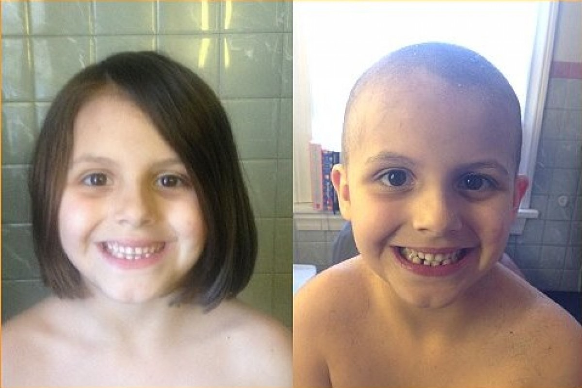 Ο λόγος που ξύρισα τα μαλλιά της κόρης μου