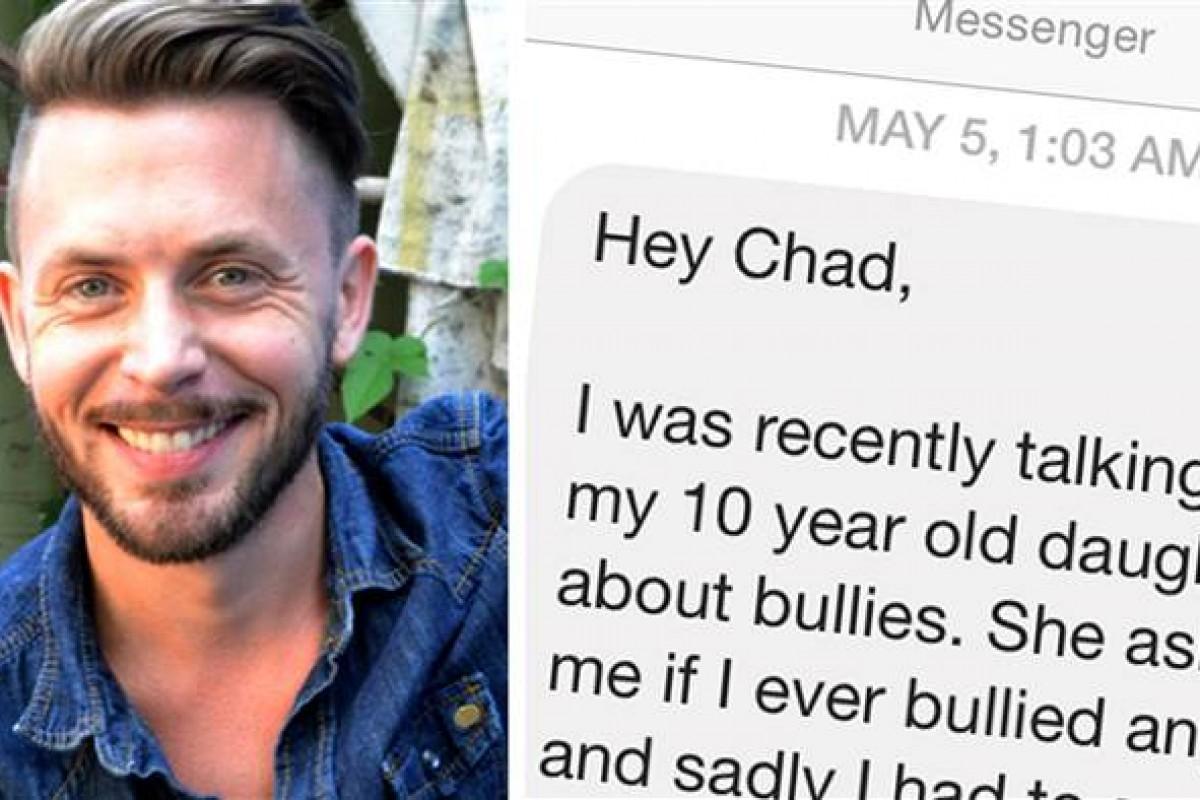 Bully στέλνει ένα συγκινητικό μήνυμα απολογίας 20 χρόνια μετά μέσω Facebook